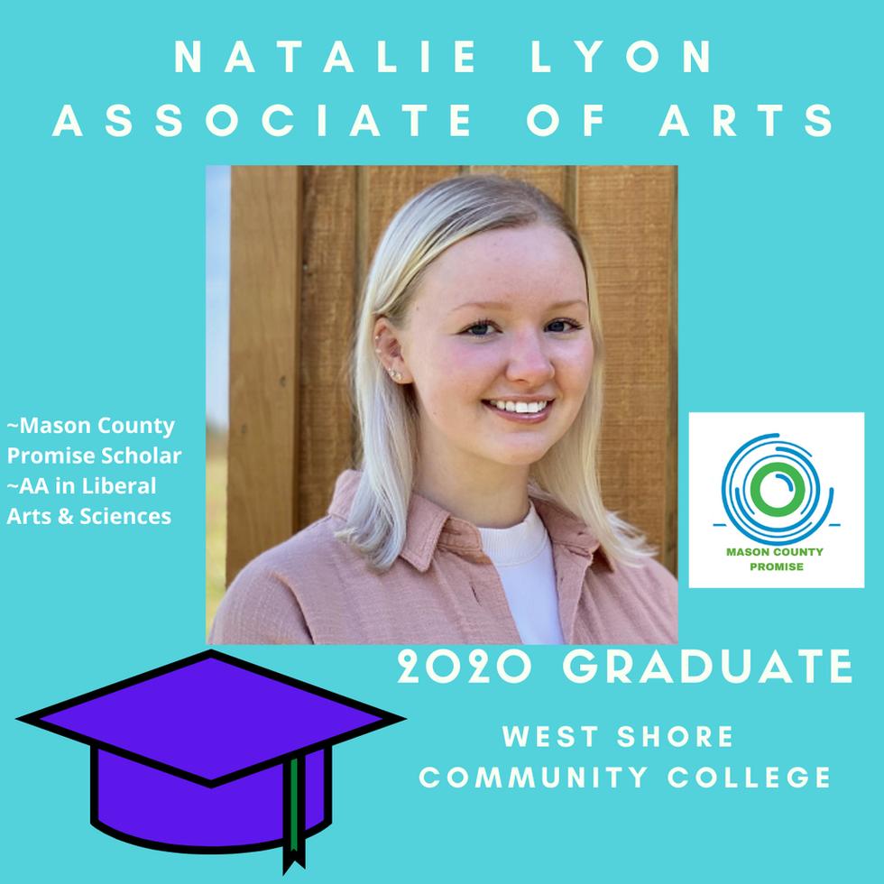 Natalie Lyon 2020 Graduate