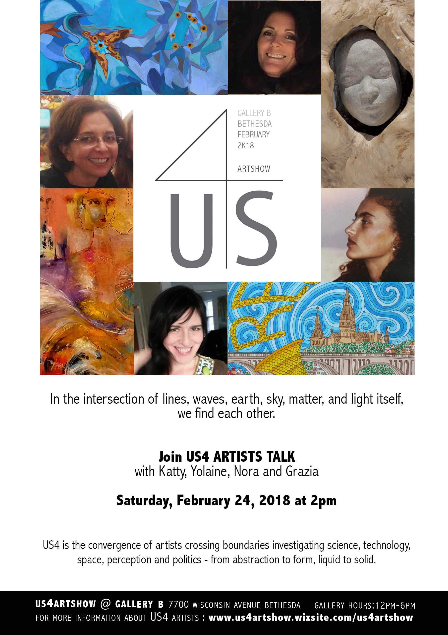 artists talk invite