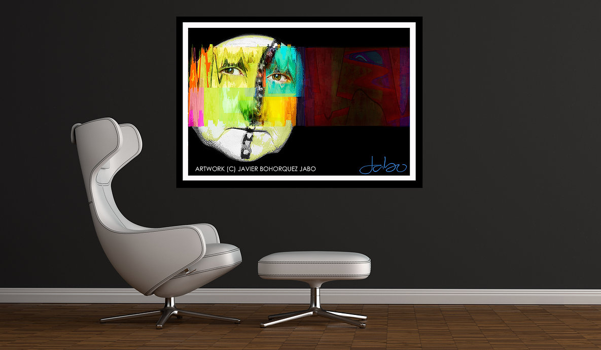 JABO GALLERY FACE PORTRAIT ABSTRACT ART