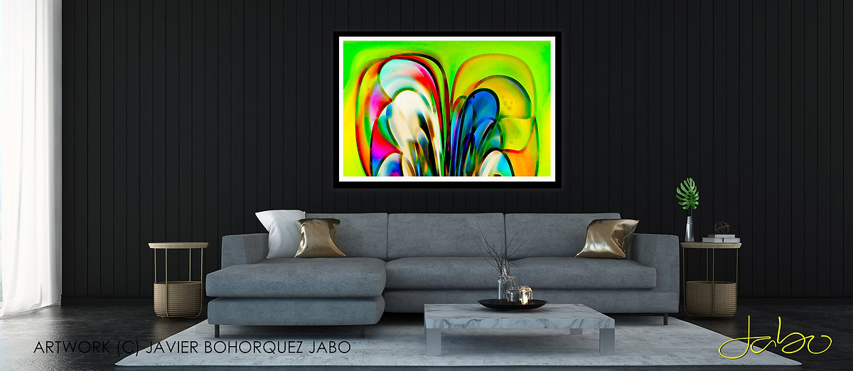 JABO MODERN ABSTRACT ART PORTRAIT PHOTOG