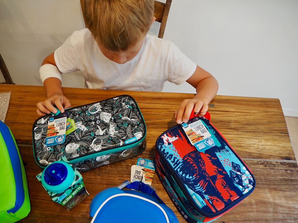 Smash lunch boxes