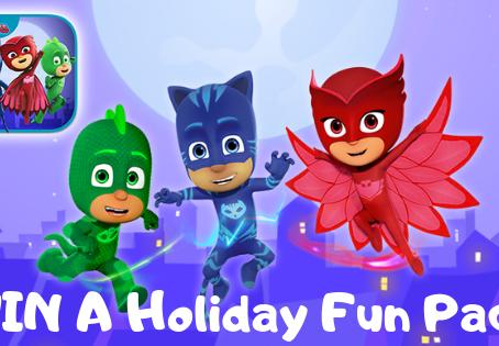 WIN A PJ Masks Holiday Fun Pack!