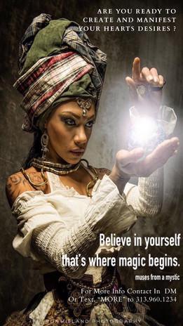 Believe in your magic.