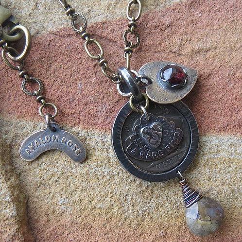Avalon Rose Necklace