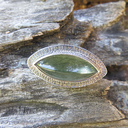 Green East/West Actinolite Ring