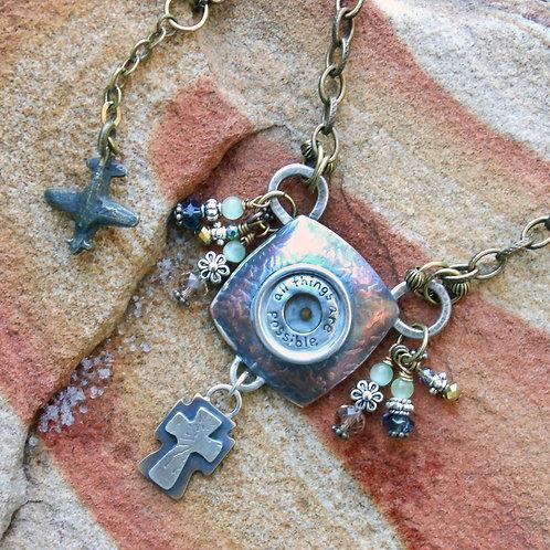 Peggy's Reliquary Necklace