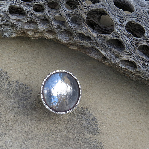 Chased Dome Ring