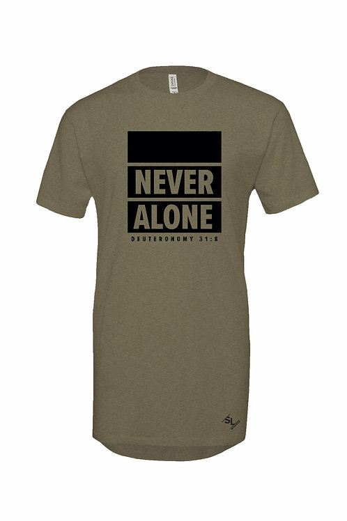 Never Alone Long Tee