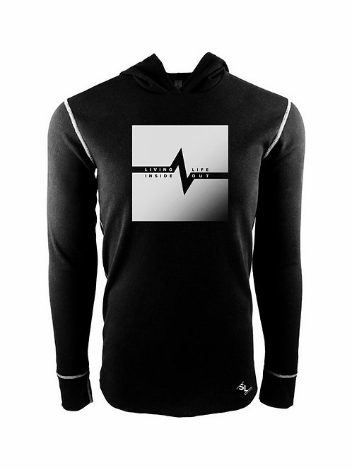 Living Life Inside Out Thermal Hoodie