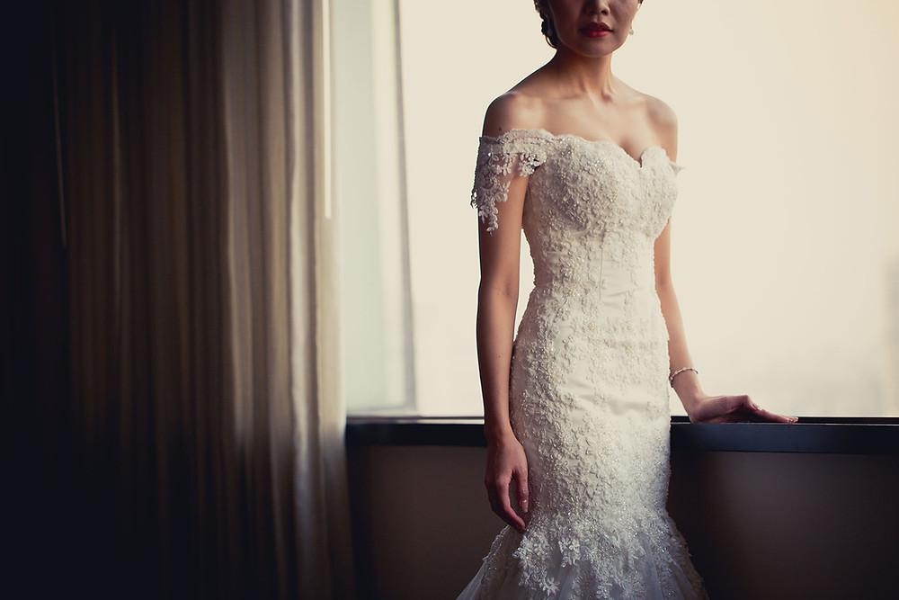 la robe de mariée ! par Lucie ceremonie