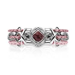 Sokarra Ruby Silver Pink