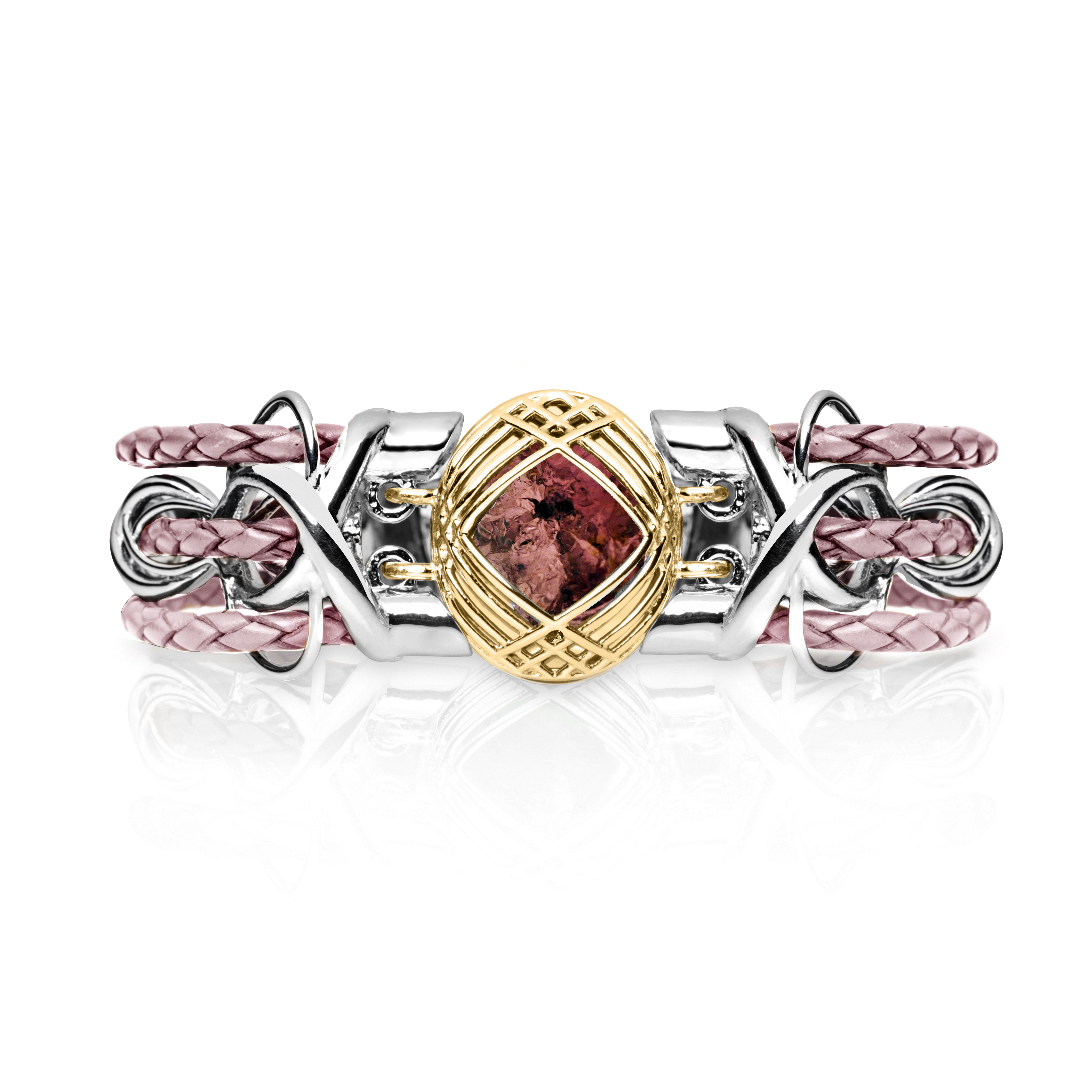 Sokarra Pink Tourmaline Gold Pink