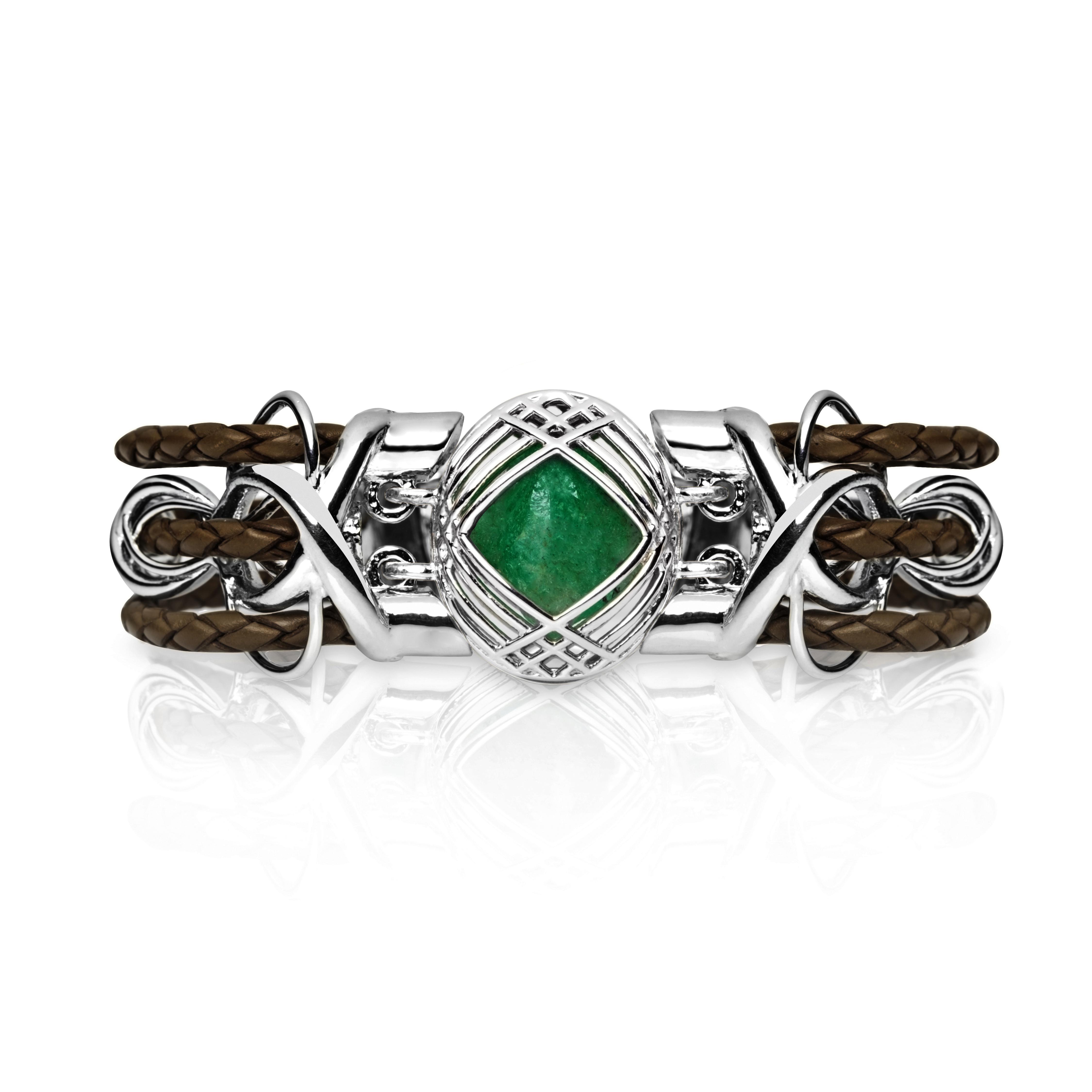Sokarra Emerald Silver Brown