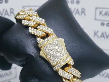 12.58 CT CUBAN Bracelet