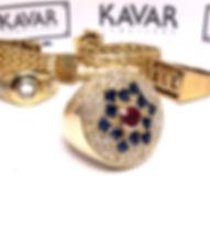 Custom Ring using stones