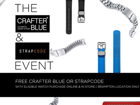 The CrafterBlue & Strapcode Event