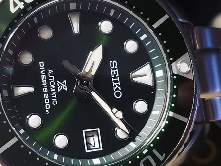 SBP103 Seiko Green Prospex Diver