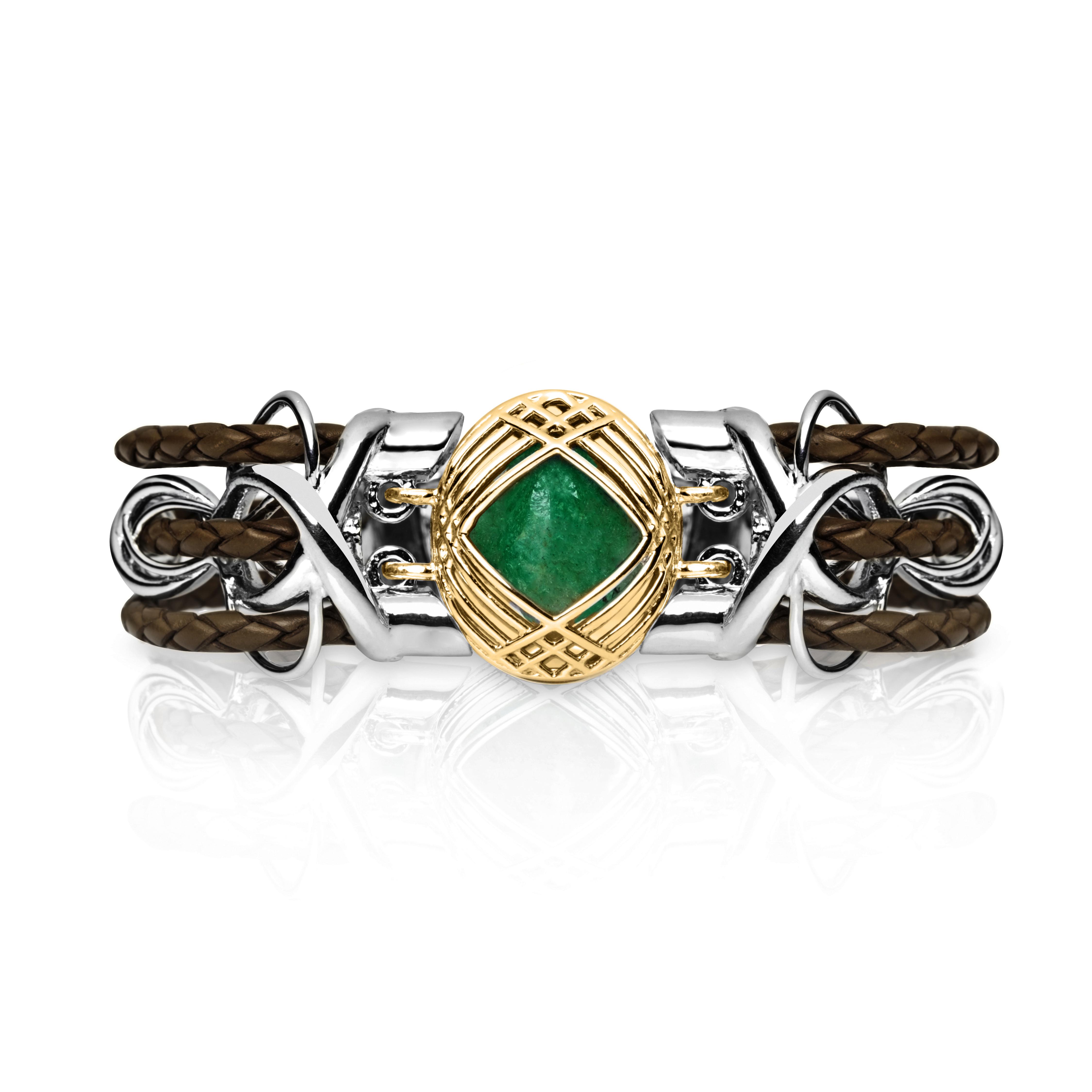 Sokarra Emerald Gold Brown