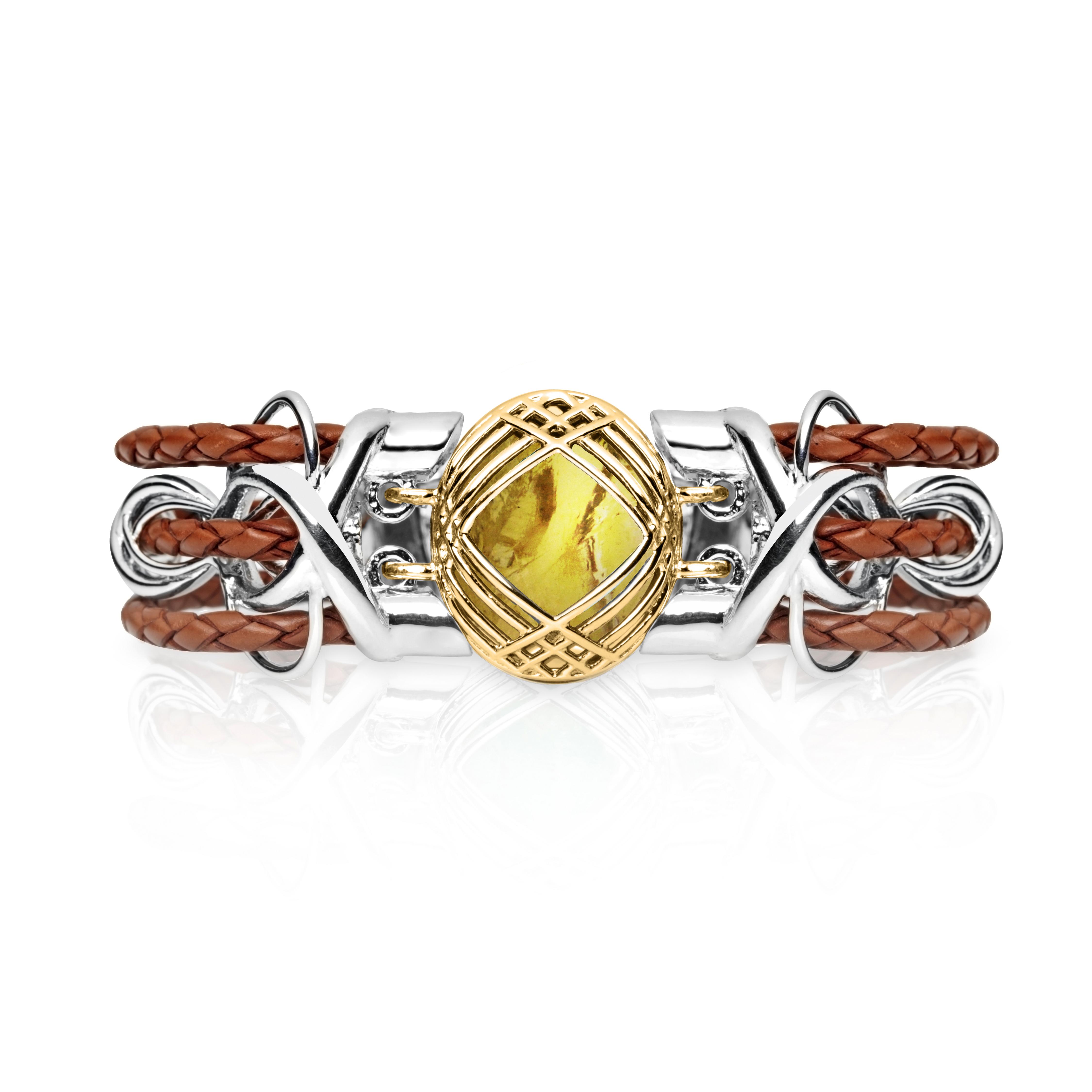 Sokarra Citrine Gold Saddle Brown