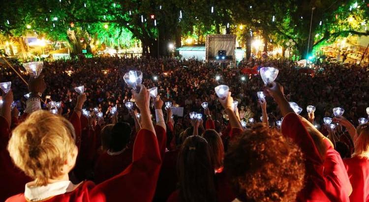 Programação de Natal em Florianópolis