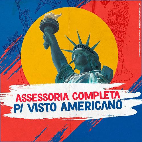 ASSESSORIA VIP – VISTO AMERICANO 1 PESSOA