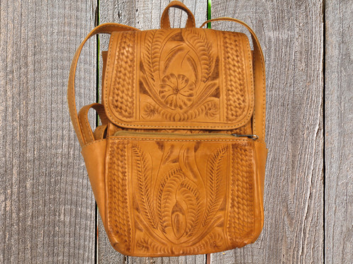 Ropin West Five Pocket Backpack | Leather Goods | Taos NM ...