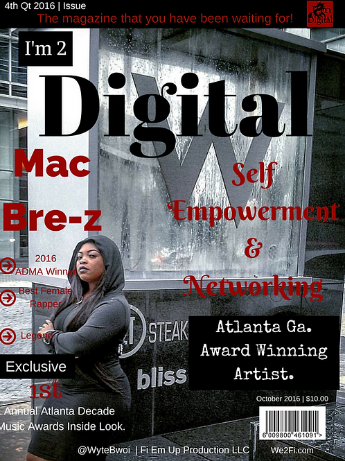 I'm 2 Digital 2nd Magazine Issue