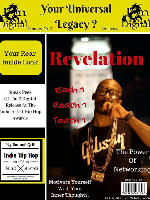 I'm 2 Digital 3nd Magazine Issue