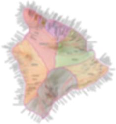 Ahupuaa Map, Hawaii Land Divisions