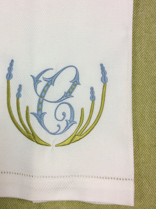 Willow Linen Guest Towel