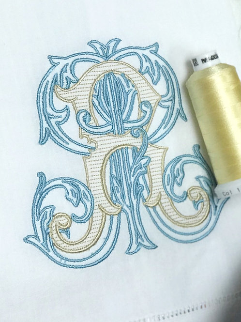 Vintage Vine Linen Towel