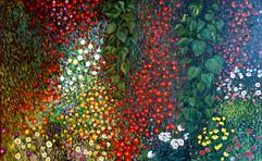 꽃밭 4 Flower garden
