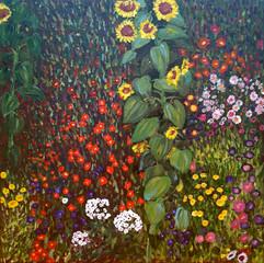 꽃밭 3 Flower garden