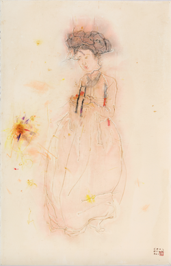 흔적 - 미인도 Traces - The Beauty Painting