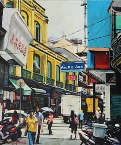 마카오 구도시의 인상 Impression of old Macau city