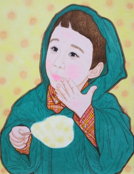 구름이 달콤한 날(초록) Sweet cloud day(green)