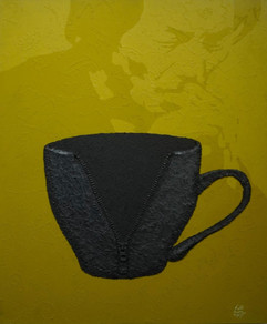 비어있는 컵 An empty cup