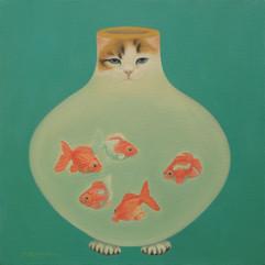 물고기항아리