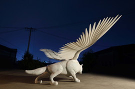 Pegasus wolf