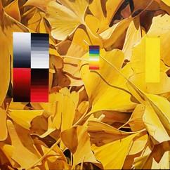 은행 잎과 그라데이션 Ginkgo's leaves and gradation