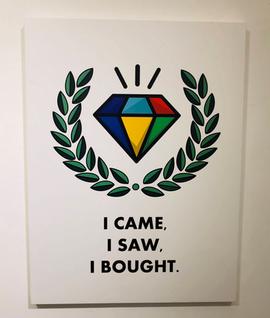 I came, I saw, I bought