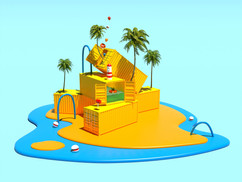 Container island