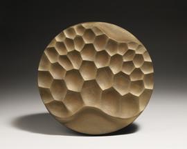 오석 Obsidian 30×30×3cm, 2020