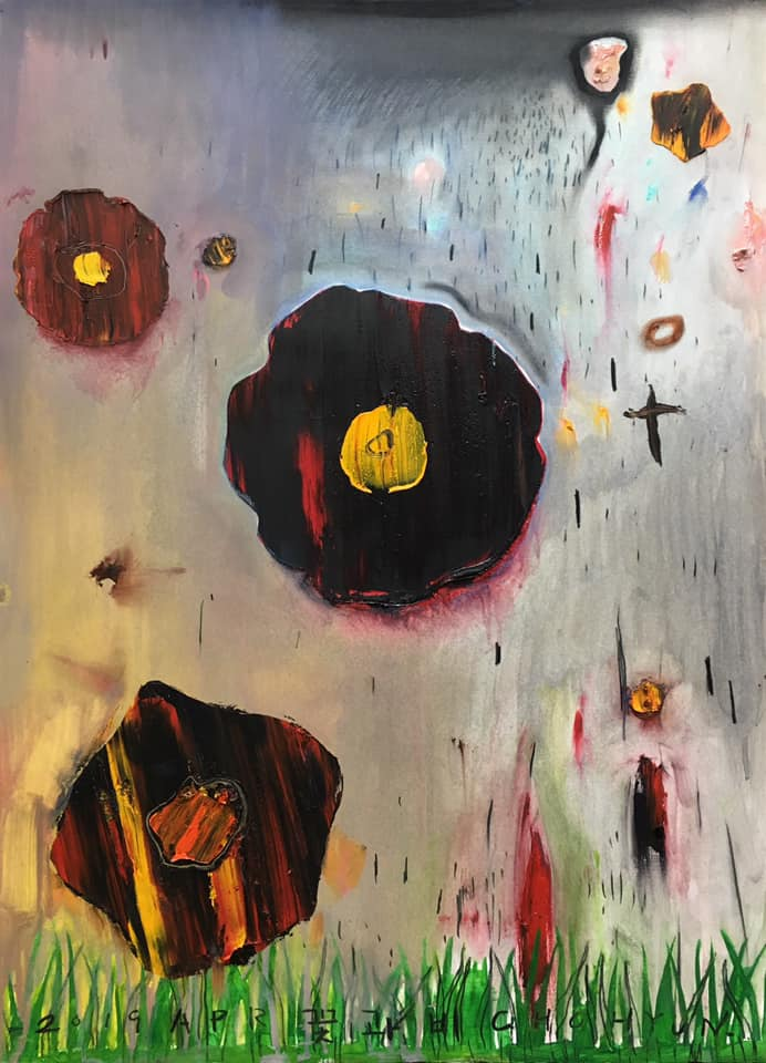 꽃과 비 Flower and rain
