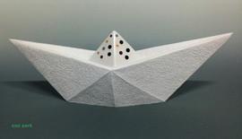 광대 - 하얀 배 Clown - White ship