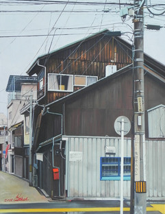 오노미치의 비오는 날 오후 Rainy day of Onomichi