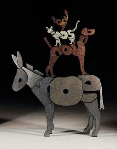 브레멘 음악대(Rooster, somali, hound, donkey) Town musicians of bremen