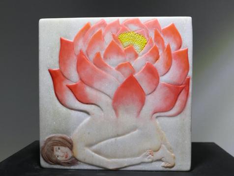 A lotus flower 연꽃