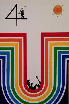 Mr.boo-boo 무지개 구멍 Rainbow hole