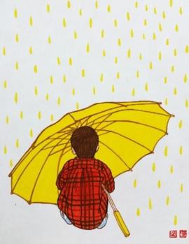 따뜻한 우산 Warm umbrella